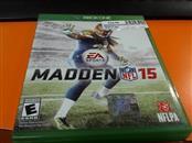 MICROSOFT Microsoft XBOX One Game MADDEN NFL 15 - XBOX ONE